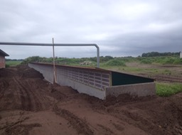7-6-Clarcor filtered weaner barn during building